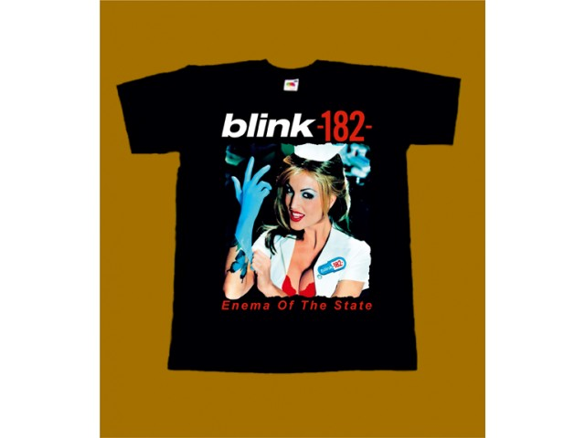 BLINK-182 T-SHIRT - ENEMA OF THE STATE